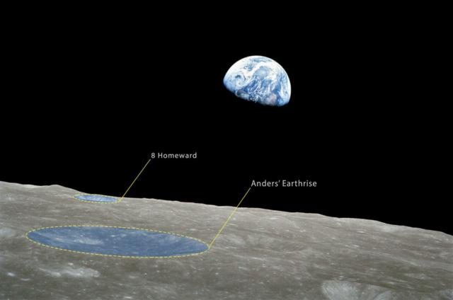 Deux cratères lunaires nommés en hommage à Apollo 8 News-110