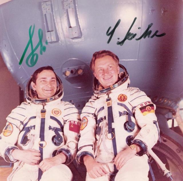 40 ans de la mission Soyouz 31 / Sigmund Jähn devient le premier allemand dans l'espace Soyouz12