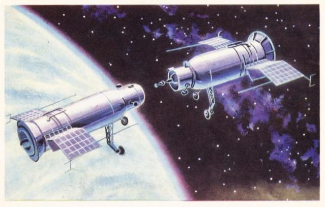 14 janvier 1969 / 50 ans de la mission Soyouz 4 puis Soyouz 5 Soyouz26