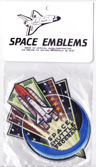 Patch Programme Navette Spatiale / 1981 2011 Space_10