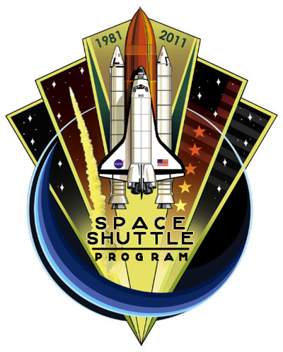 Patch Programme Navette Spatiale / 1981 2011 Sscp_f10