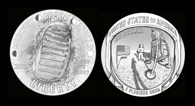 [Philatélie 50 ans Apollo 11] USA 2019 : deux timbres seront émis en juillet 2019 Stef_113