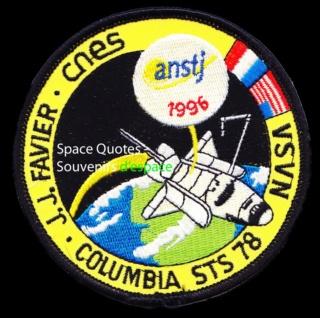 Le mystérieux badge spatial français du Comissariat à l'Energie Atomique! Sts-7811