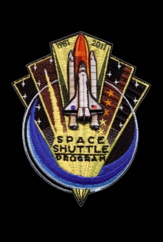 Patch Programme Navette Spatiale / 1981 2011 Sts_pa10