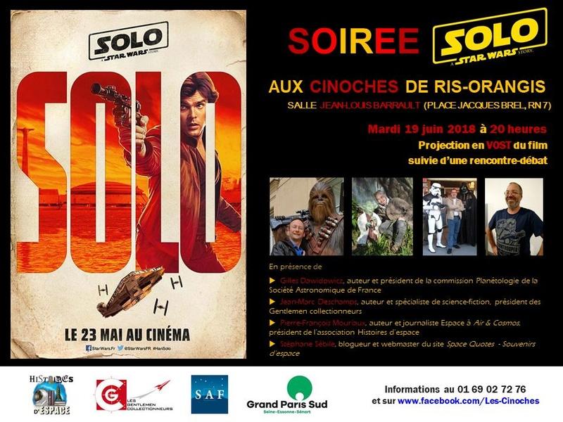 Soiré Ciné-Débat : SOLO - le 19 juin 2018 à Ris-Orangis (91) Thumbn11