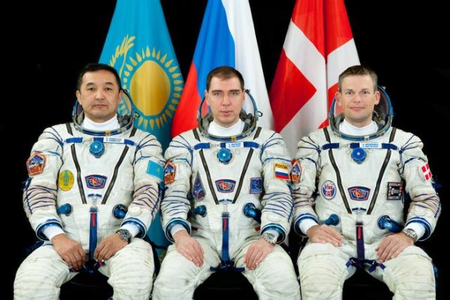 Mogensen - Mission spatiale pour Andreas Mogensen en 2015 - Soyouz TMA-18M IrISS (annulation Sarah Brightman) Tma18m10
