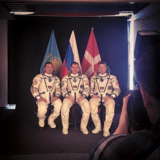 Mogensen - Mission spatiale pour Andreas Mogensen en 2015 - Soyouz TMA-18M IrISS (annulation Sarah Brightman) Tma18m11