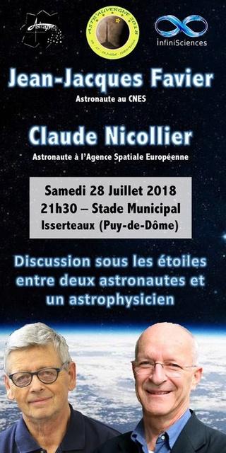 28 juillet 2018 - Les astronautes Jean-Jacques Favier et Claude Nicollier à Isserteaux (63) Xl_new10