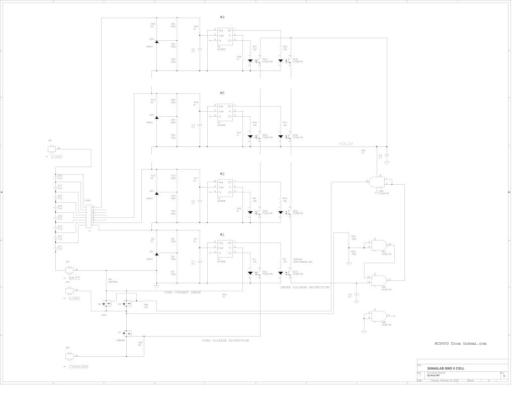 BMS et Depannage ou maintenance de pack de batterie  Signal10