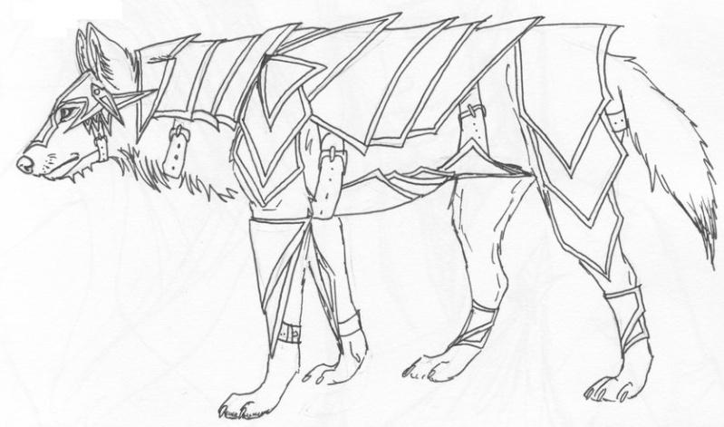 Tenshi Doragon , l'essence de la nature Loup_e10