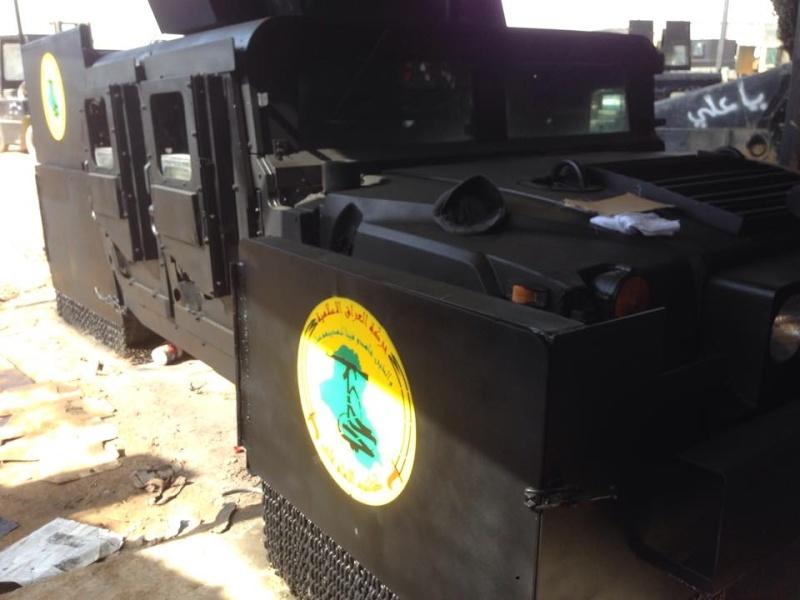 Un Hummer H1 mega blindé !!! 10393710