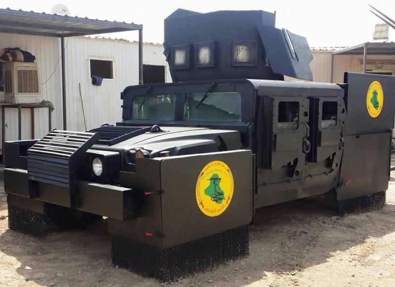 Un Hummer H1 mega blindé !!! 11737910