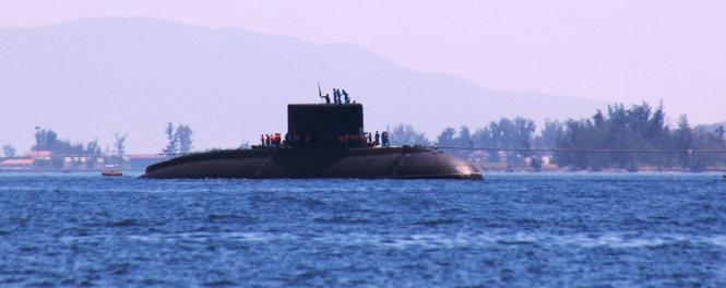 Tàu ngầm HQ-185 Khánh Hòa 20150710