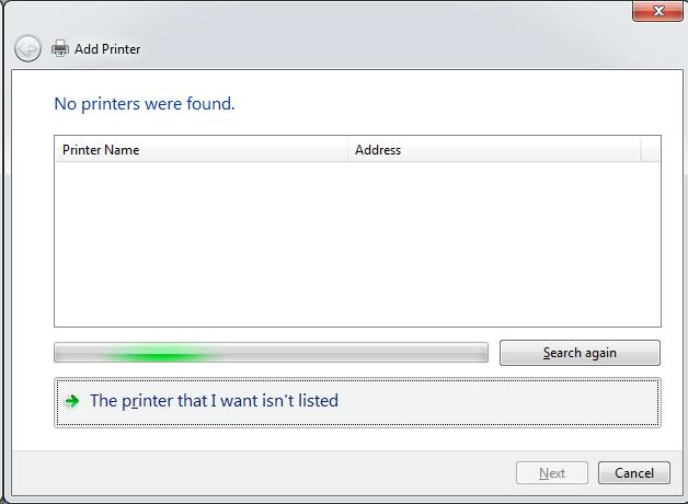 Cài đặt HP LaserJet P1102w để in qua mạng không dây Screen30