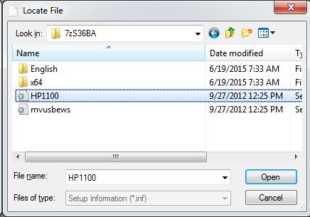 Cài đặt HP LaserJet P1102w để in qua mạng không dây Screen42