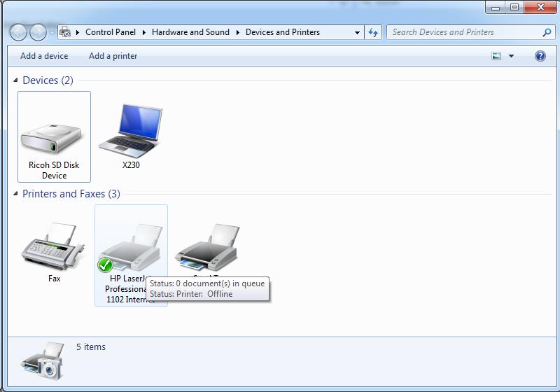 Cài đặt HP LaserJet P1102w để in qua mạng không dây Screen53