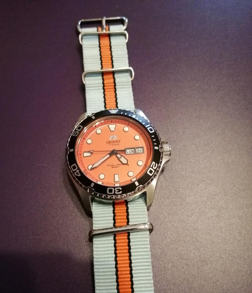 Orient ray 2 orange  Img_2265