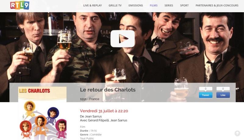 Les charlots sur RTL 9 Captur16