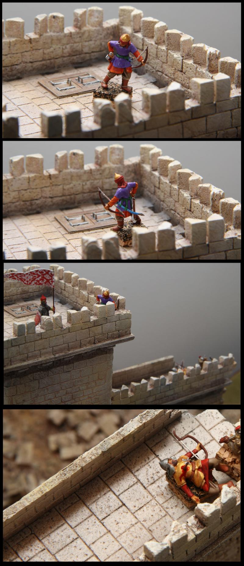 [Diorama 1/72] - Siège de Saint Jean d'Acre - 1191 - Page 2 Archer10