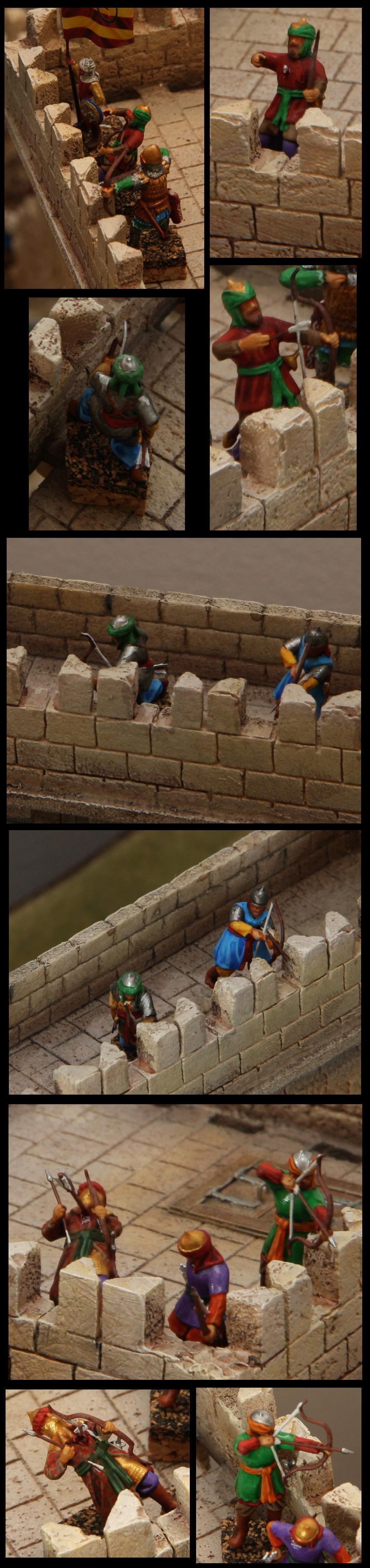[Diorama 1/72] - Siège de Saint Jean d'Acre - 1191 - Page 2 Archer11