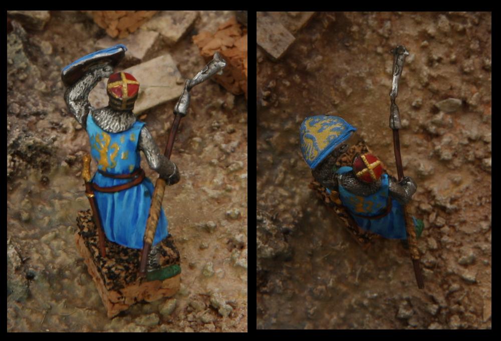 [Diorama 1/72] - Siège de Saint Jean d'Acre - 1191 - Page 2 Croisz10