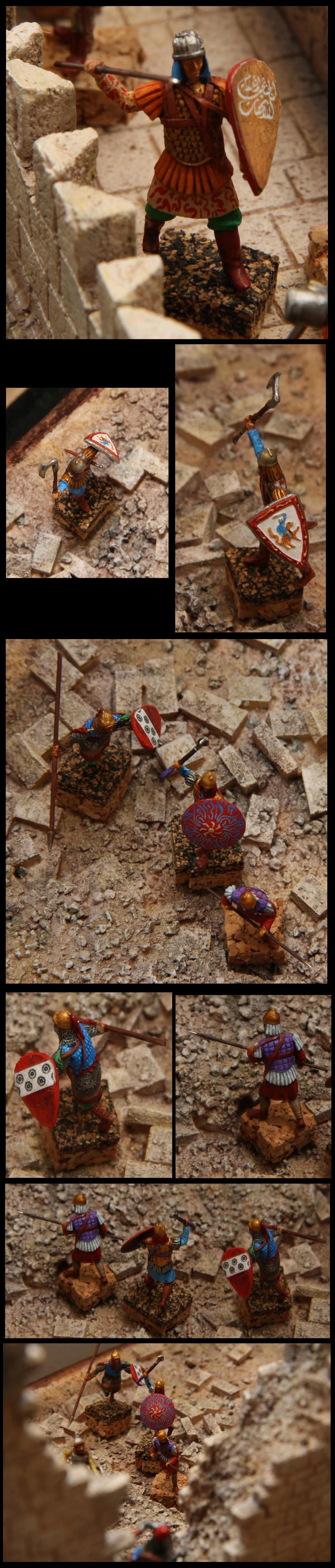 [Diorama 1/72] - Siège de Saint Jean d'Acre - 1191 - Page 2 Sarras10