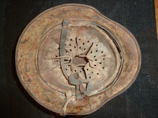Casque WH Heer betonné sable. P1300649