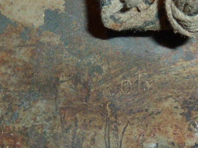 Casque WH Heer betonné sable. P1300654
