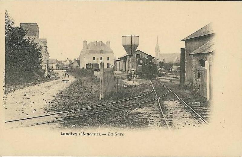 Ancienne gare des CFD Laval - Mayenne  Landiv10