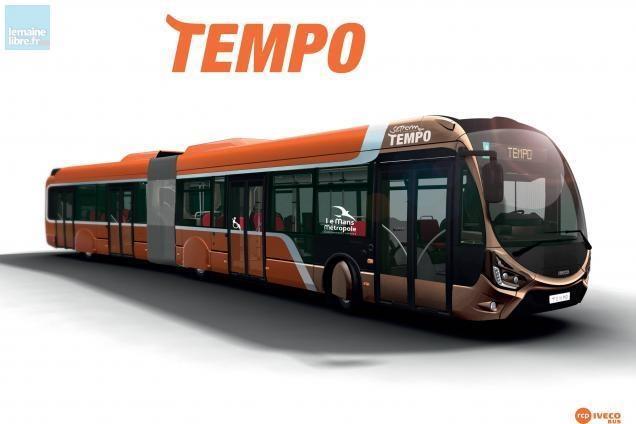 [Le Mans Métropole] Réseau SETRAM Tempo10