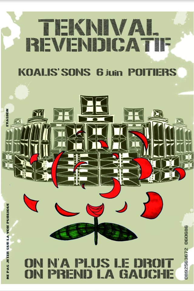 6,7 Juin 2015 Teknival revendicatif : Poitiers(86) Image10