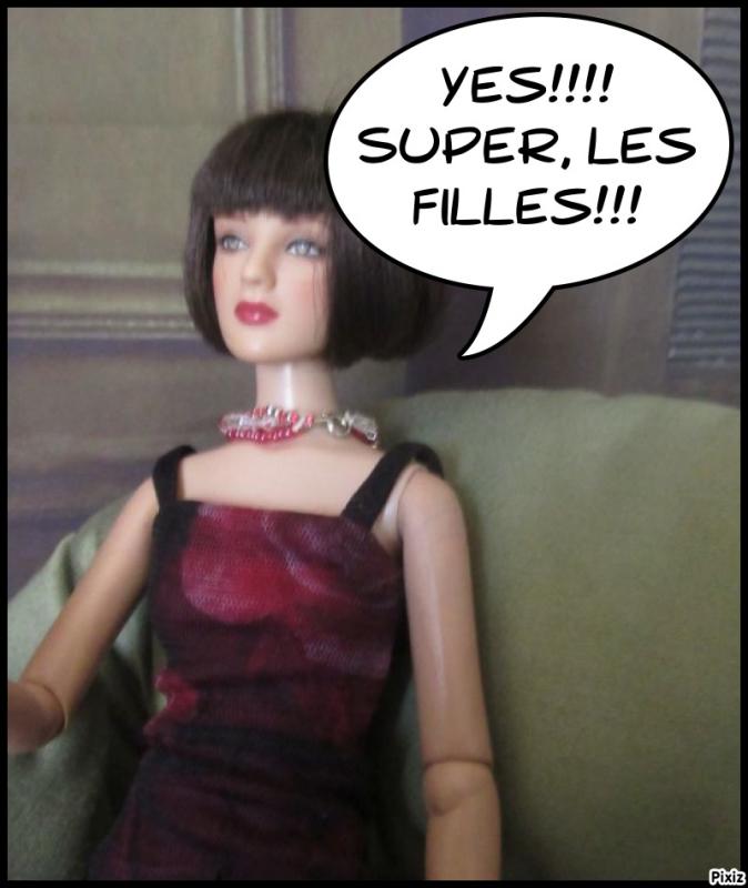"""Bertille offre notre """" cadeau""""...aie, aie!!! Gzonia11"""