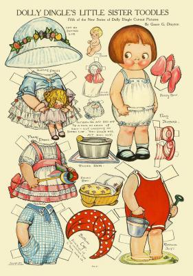 Petite poupée à télécharger P1748710