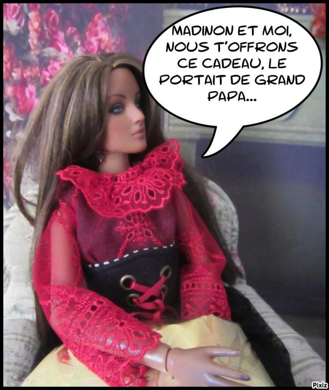 """Bertille offre notre """" cadeau""""...aie, aie!!! Pixiz-25"""