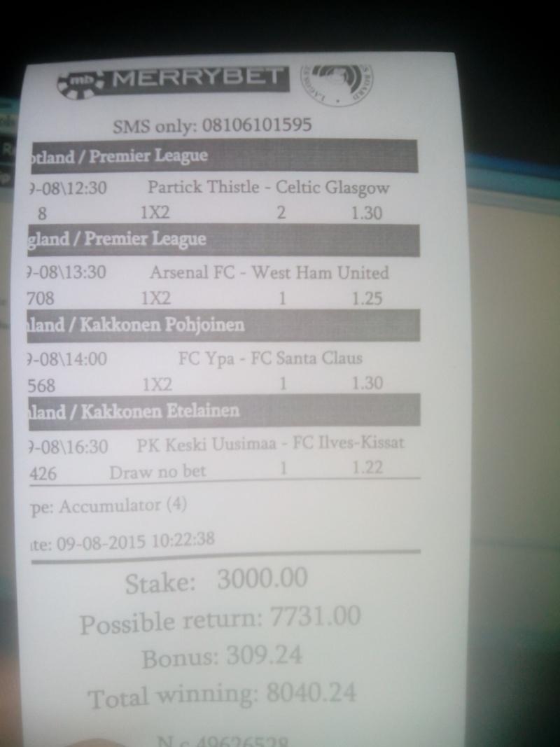 MEDORIANSPORTs PICK(football betting forcasting) - Page 15 Sunday10
