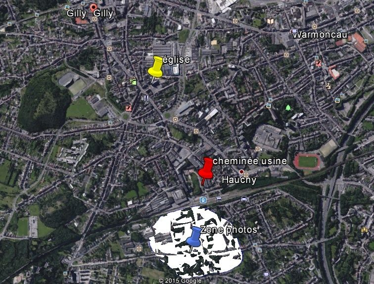 2015: le 04/08 à Environ 14h30 - Une soucoupe volante -  Ovnis à Belgique, Gilly -  Plan11
