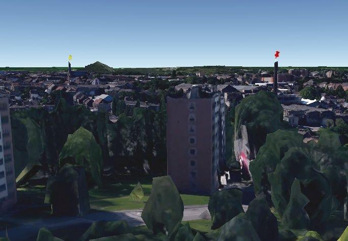 2015: le 04/08 à Environ 14h30 - Une soucoupe volante -  Ovnis à Belgique, Gilly -  Sans_t11