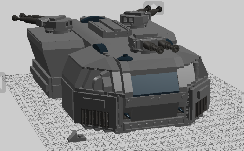 [Updated!] MF-205 Savage Amored Fighting Vehicle Savage10