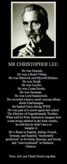R.I.P. Christopher Lee Christ10