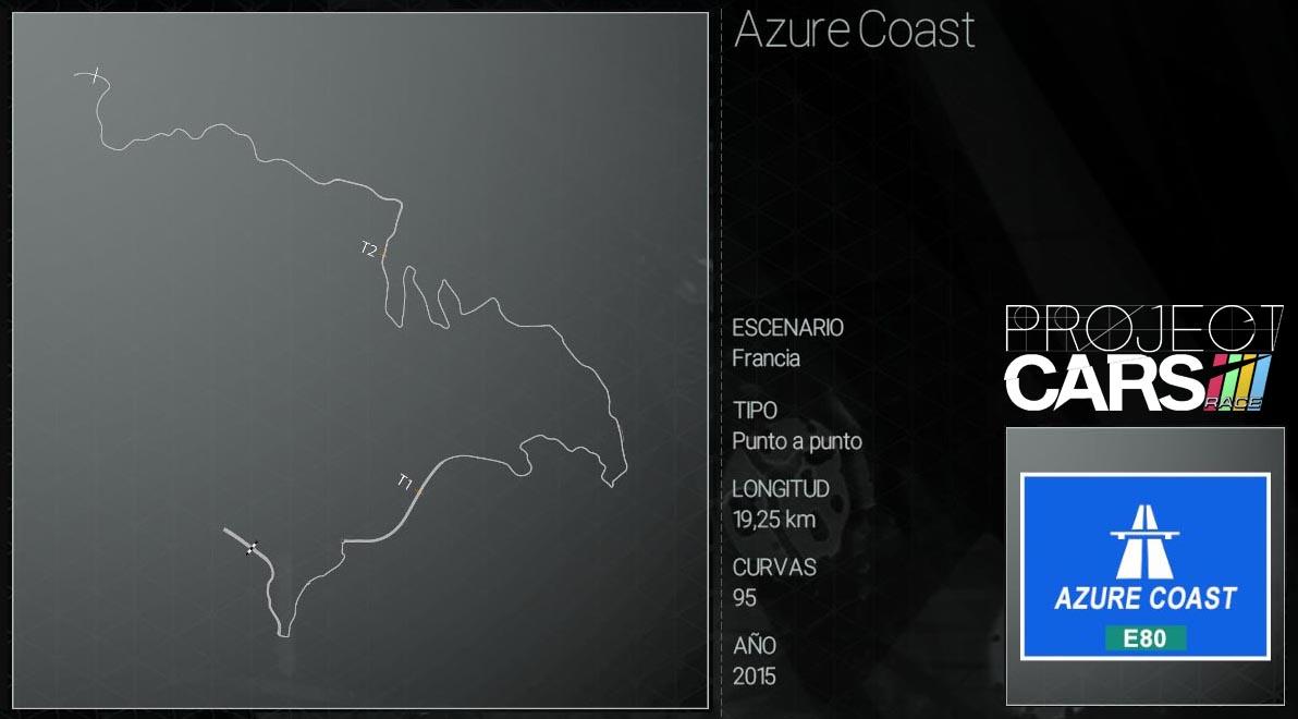 Circuitos Project CARS Azure_13