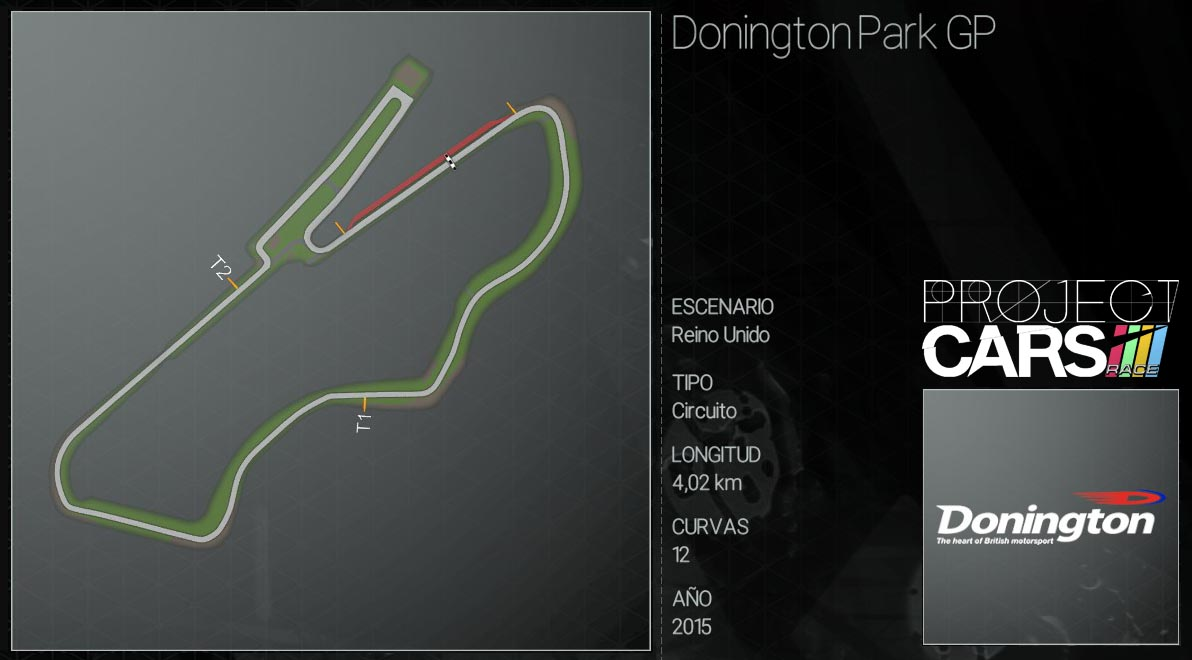 Circuitos Project CARS Doning10