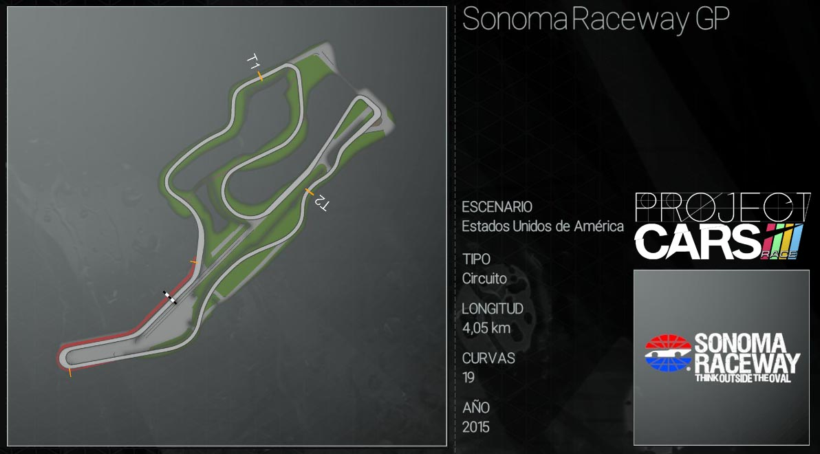Circuitos Project CARS Sonoma10