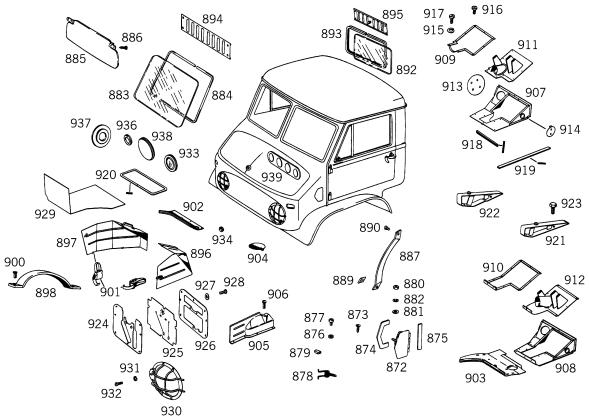 Comment mettre la tôle du couvercle de boîte? Hardca10