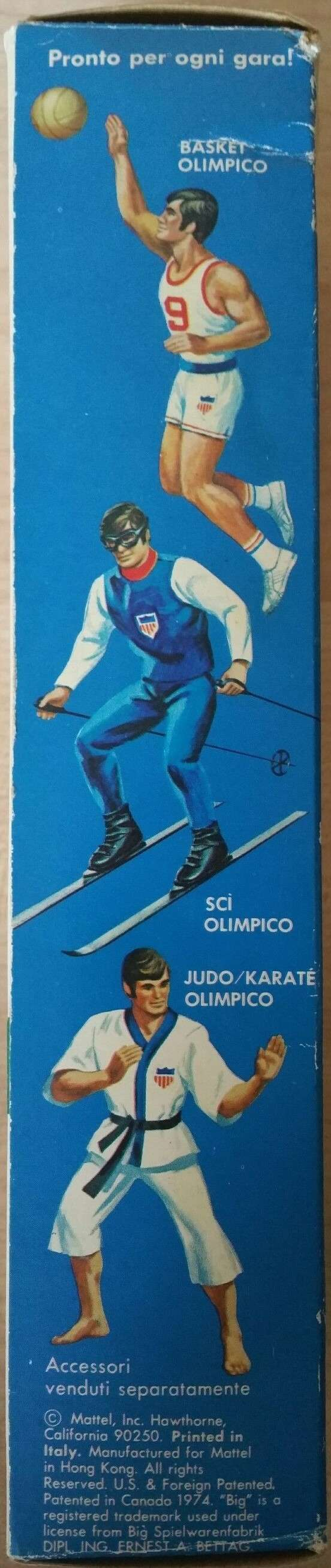BIG JIM OLIMPICO NO. 7499 212