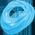 Pégacorne Bleu Océan Oceanb10