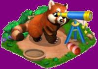 Panda Roux => Fourrure de Panda Roux Sans_150