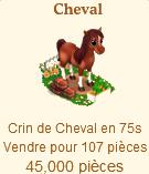 Cheval => Crin de Cheval Sans_332