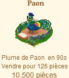 Le Paon => Plume de Paon Sans_569