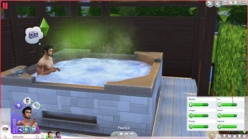 Fun bar not rising in hot tubs Fun_le12