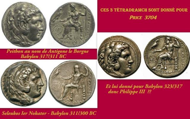tétradrachme Séleucide Seleukos I Nikator Babylone Nouvea12